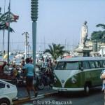 Mediterranean coastal town in August 1980