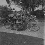 A Motor bike from the 1920s