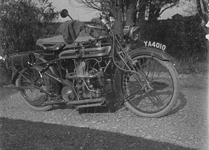 Motor bike from the 1920s