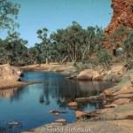 Scenic desert landscape, July 1993