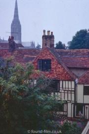 Salisbury from the White Hart hotel