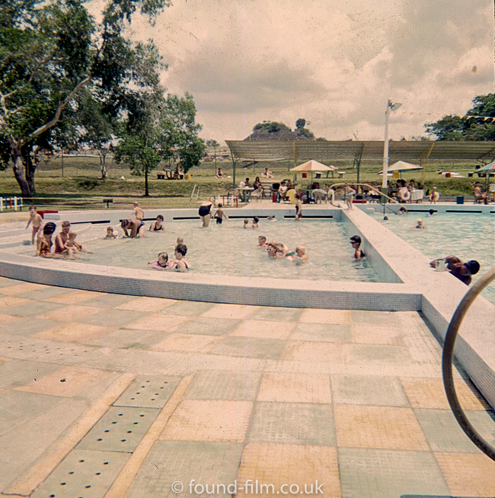 Swimming pool at RAF Seletar
