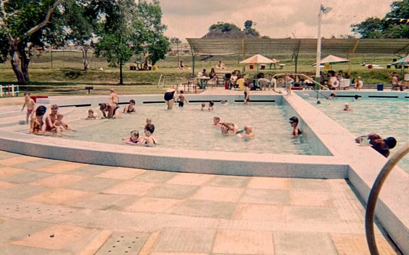 Swimming pool at RAF Seletar