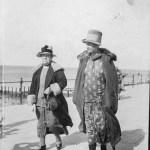 Two women in Herne Bay – 27th July 1927