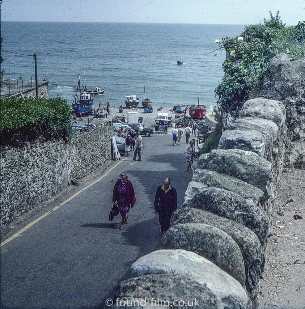 Cornish seaside fishinga Village