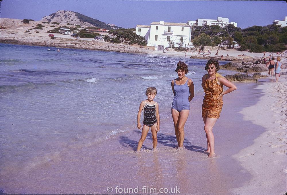 Family seaside portrait