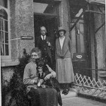 Group outside their home in the mid-1920s