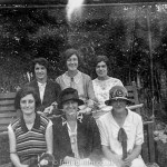 Group portrait of young ladies in the 1920s