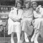 Portrait of three ladies – 1920s