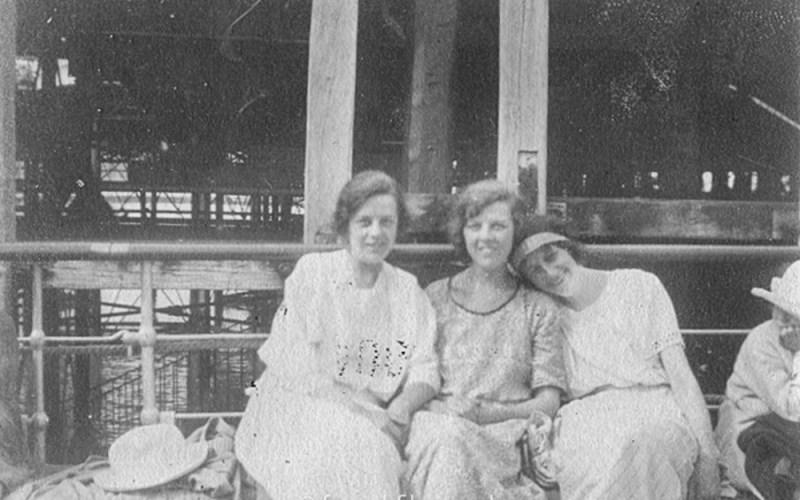 Three young ladies - mid 1920s