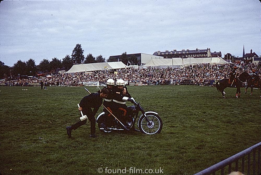 Motor bike at show