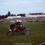Motor bike at show – May 1975