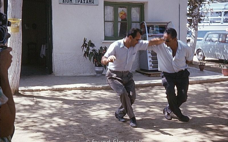 People dancing in Greece