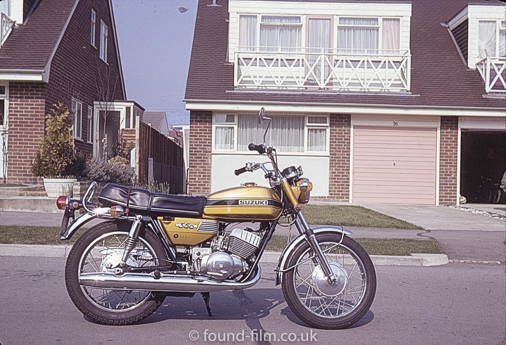 Suzuki motorbike