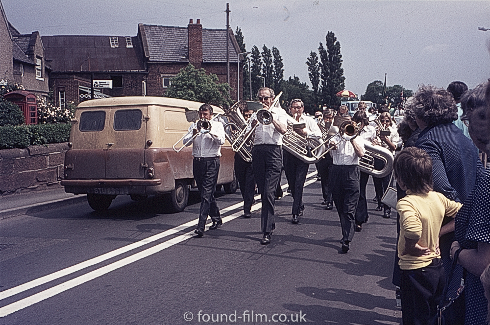 Brass Band at Wollaston Festival 1975