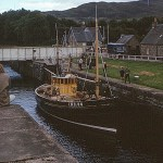 Views of Scotland - Fort Augustus Lock