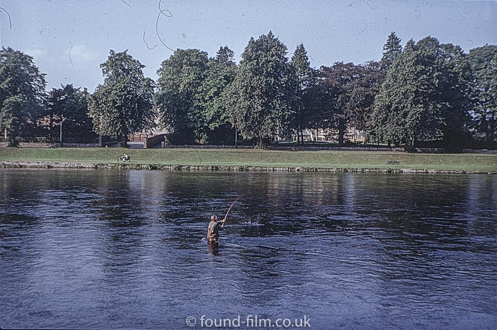 Views of Scotland - Salmon Fisher