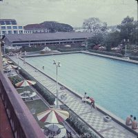 Swimming pool at RAF Seletar social club