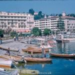 Boats and Hotels at Lugano Switzerland