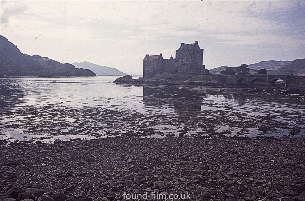 Eilean Donan Castle in the evening