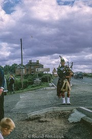 A piper at Gretna Green