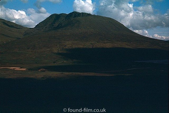 The look of Ilford film - A mountain