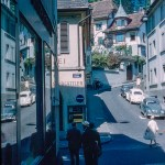 Lowengraben in Lucerne Switzerland about 1961