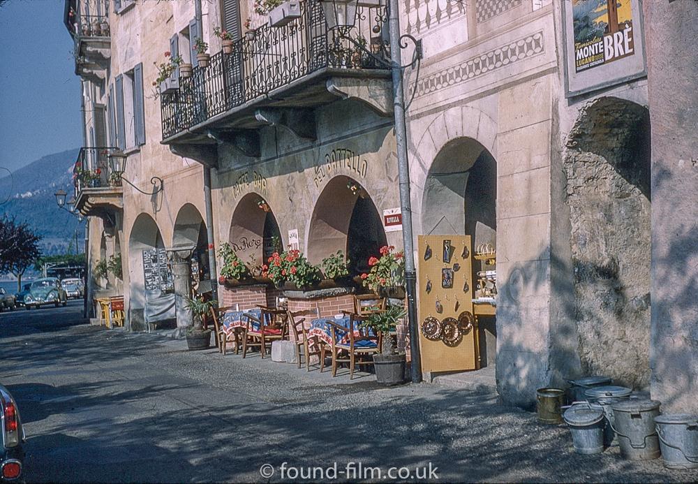 Shopping Arcade in Lugano, Switzerland c1961