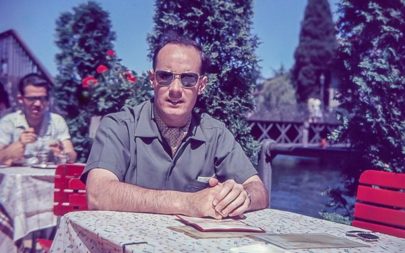 Portrait of a man - about 1960