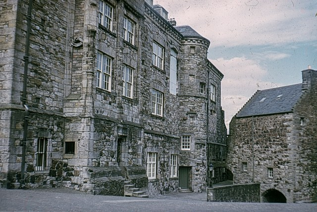 Stirling Castle courtyard