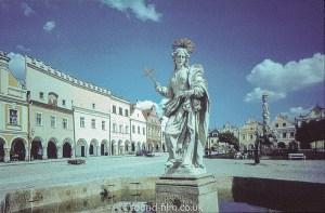 Virgin Mary in Wenceslas square