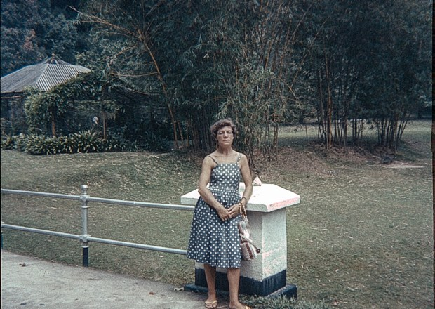 Woman in Singapore