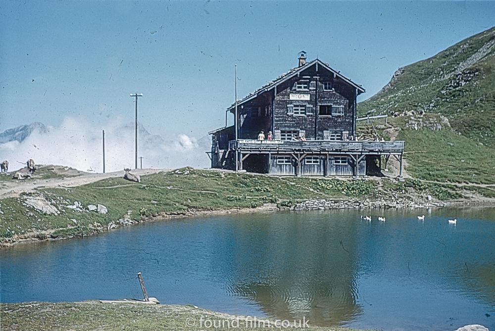 The Climber's Hut at Jochpass (Engelburg) in 1962