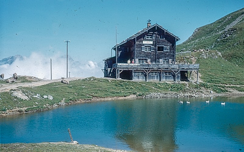 The Climber's Hut at Jochpass (Engelburg) in 1962