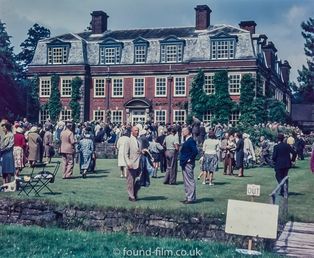 Garden Party at large house