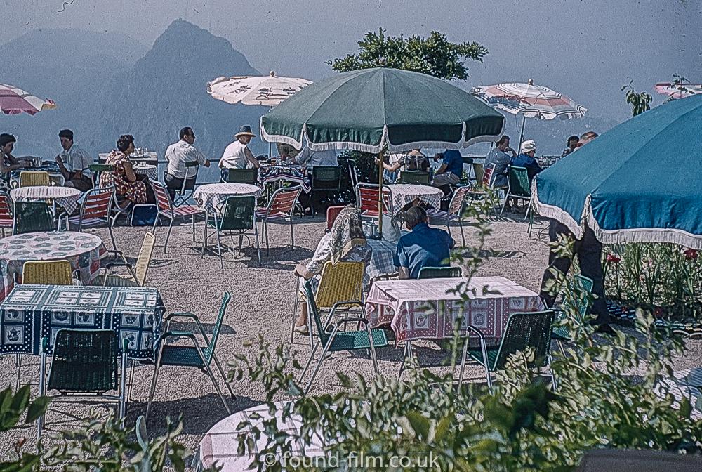 Monte Bre Lugano Switzerland in 1962