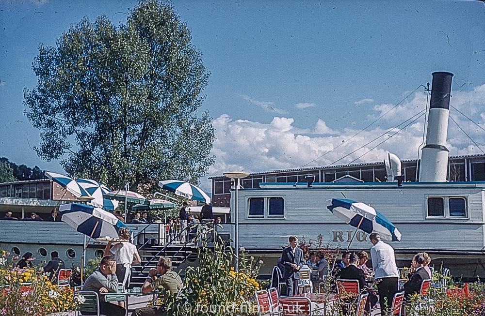 Rigi Restaurant Lucerne Switzerland 1962