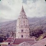 Kek Lok Si Temple in Penang in the early 1960s