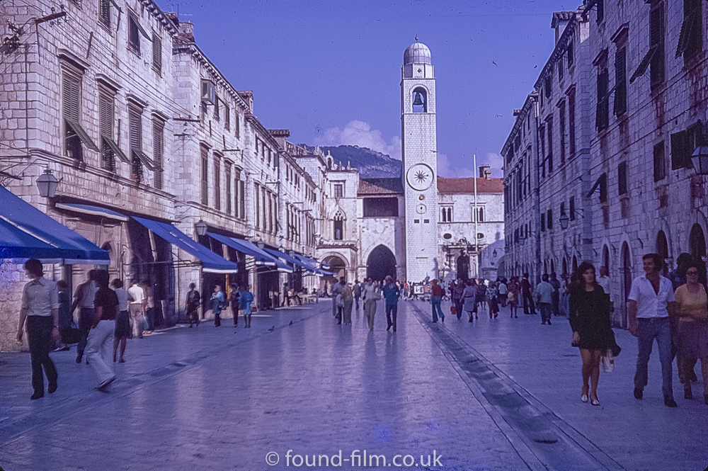 Dubrovnik and the Bell Tower in Sept 1974