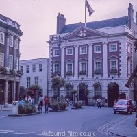 The Mansion House in York, 1975