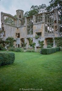 Ruins at Sudeley Castle in Glocestershire November 1977