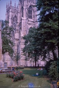 York Minster in October 1975