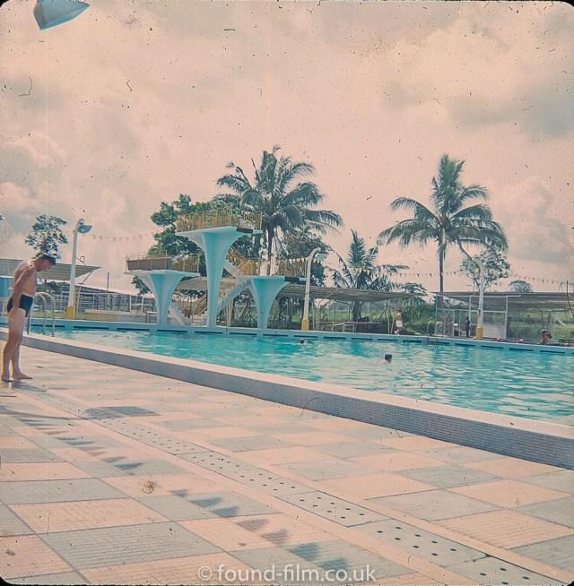 The Swimming pool at Seletar