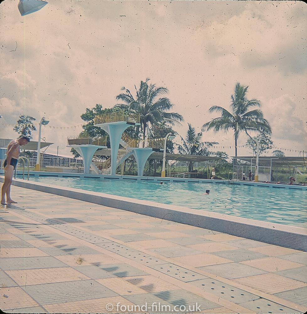 The Swimming pool at Seletar early 1960s