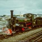 Steam Engine Linda on the Ffestiniog railway