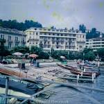 Lake Lugano in Switzerland early 1960s