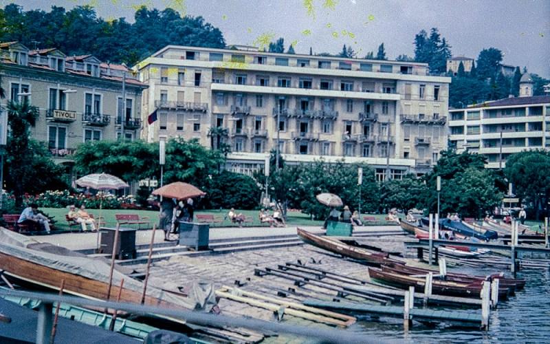 Lake Lugano in Switzerland early 1960sMedium format negatives -