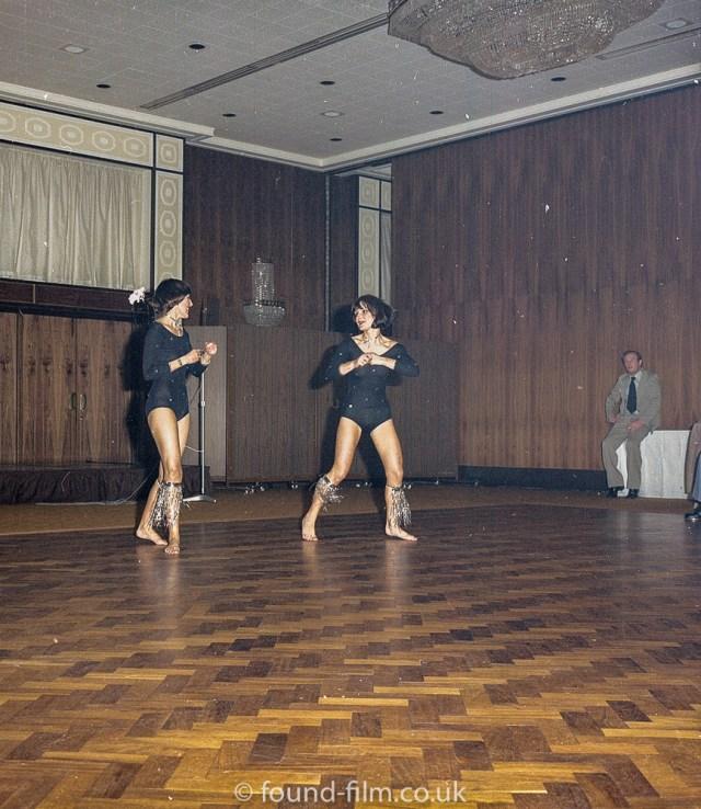Medium format negatives - Dancers