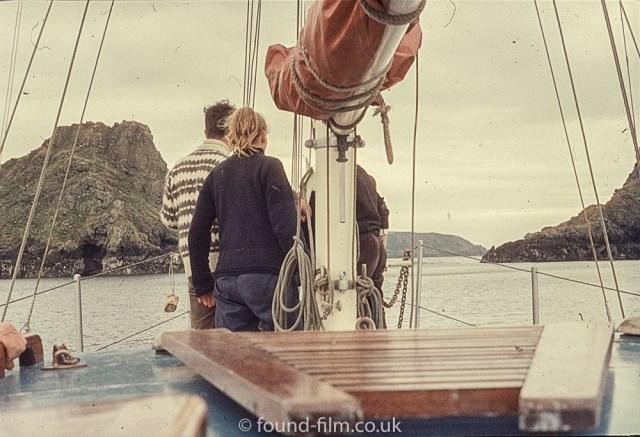 Sailing boat crew