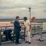 Medium format negatives - Publicity shot at airport